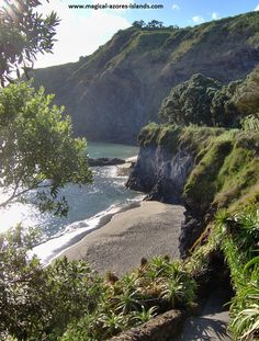 Caloura is a favourite spot to visit in Sao Miguel. It is a pretty little fishing village. Azores, Spain And Portugal, Portugal Travel, Douro Portugal, Secluded Beach, Fishing Villages, Holiday Destinations, Strand, The Great Outdoors