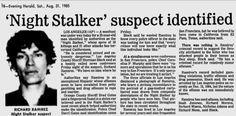 Richard Ramirez. Night Stalker.