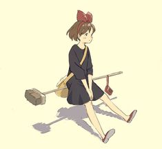 mary and the witches flower Kiki Delivery, Kiki's Delivery Service, Studio Ghibli Movies, Cartoon Profile Pictures, Japanese Film, Manga Artist, Anime People, Hayao Miyazaki, Totoro