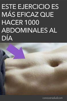Este ejercicio es más eficaz que hacer 1000 abdominales al día