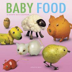 babyfood mini wall calendar!!! yessss