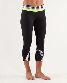 Add a touch of color to your workouts with the Run: Inspire Crop II by @lululemon athletica