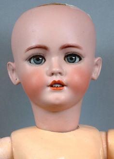 "31"" Simon Halbig 1248 Santa Antique Doll~Original Costume~ from kathylibratysantiques on Ruby Lane"
