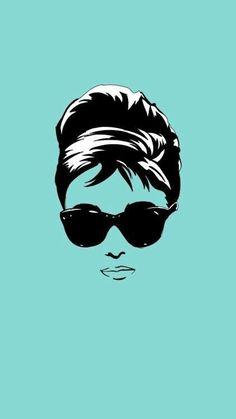 Trendy breakfast at tiffanys tattoo ink holly golightly 23 ideas Azul Tiffany, Tiffany And Co, Tiffany Blue, Audrey Hepburn Art, Audrey Hepburn Illustration, Audrey Hepburn Breakfast At Tiffanys, 3d Templates, Tiffany Party, Holly Golightly