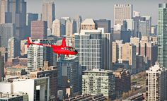 Groupon - Helicopter Tour of Chicago for Two or Four from Chicago Helicopter Express (Up to 51% Off). Groupon deal price: $199.00