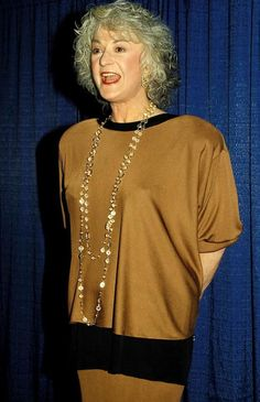 """Beatrice 'Bea' Arthur played the role of """"Dorothy Zbornak"""" on The Golden Girls Dorothy Zbornak, Rue Mcclanahan, Estelle Getty, Bea Arthur, Betty White, Golden Girls, Tv Shows, It Cast, Actresses"""