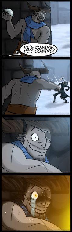 Dragon Age Comic - Snowbull by YukiSamui.deviantart.com on @DeviantArt