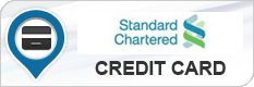 Standard Chartered credit cards are ideal for those who travel frequently as they help make the journeys rewarding and economical.
