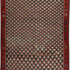Sena Kurdi Kurdish Hand Knotted Killim Size: M x M Knots, Size 2, Rugs, Home Decor, Farmhouse Rugs, Decoration Home, Room Decor, Knot, Carpets