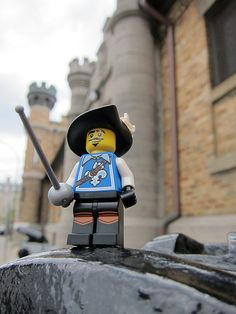 LEGO Collectible Minifigures Series 4 : Musketeer
