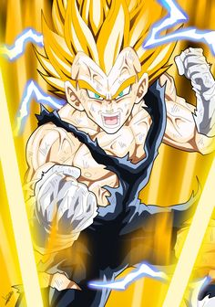 Vegeta Furious by =Sersiso on deviantART