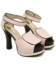 Black Sandals | Korean Style Wedge Sandals Shoes Black On Ushoes2014