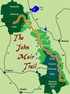 The John Muir Trail - 215 miles