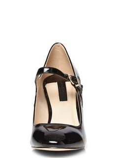 Black Clemmy Mary Jane Court Shoes - Dorothy Perkins
