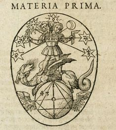 Hermes Trismegistus - Occvlta philosophia - Rebis from Theoria Philosophiae Hermeticae by Heinrich Nollius Occult Symbols, Occult Art, Gravure Illustration, Alchemy Art, Esoteric Art, Mystique, Medieval Art, Renaissance Art, Book Of Shadows