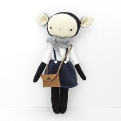 Hey, I found this really awesome Etsy listing at https://www.etsy.com/listing/247453368/foundling-lamb-girl-jane-handmade-animal