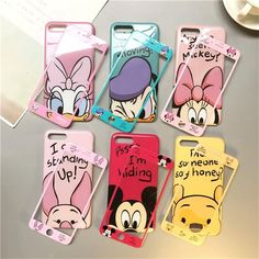 """Universe of goods - Buy """"Cartoon Mickey Minnie Mouse Phone Case & Same Tempered Glass Suit Cover for Iphone X XR XS Max 6 7 8 Plus Shockproof Bumper"""" for only USD."""