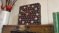Clock  Oh Deer Fabric Clock by ItsAlicesImagination on Etsy, £21.50