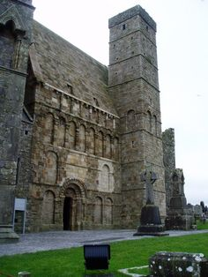 The Chapel of King Cormac, built in 1127 and consecrated in 1134. Rock of Cashel.  Ireland.