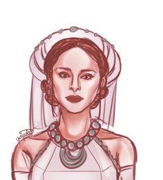 Star Wars Clone Wars, Star Wars Art, Amidala Star Wars, Fantasy Outfits, Fantasy Characters, Fictional Characters, I Am A Queen, Rogues, Starwars