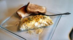 """Omelette in bag! 4.91 stars, 11 reviews. """"Easy easy easy!!! Takes a lot less skill than a regular omelette, which I still haven't perfected yet. lol :chef"""" @allthecooks #recipe"""