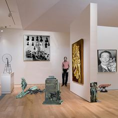 Rauschenberg ponders anew the Triumph of Duchamp over Dali, 2010 by johnwalford, via Flickr