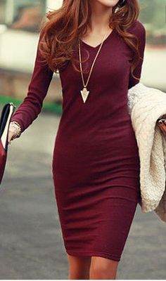 Love the color, neckline, and fit. I have a necklace almost exactly like this one.