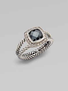 david yurman. I think I'll always want one of these... good news is my fingers are too small for them...