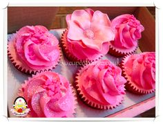 'Fancy' range princess cupcakes