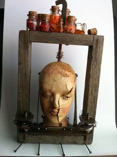 found+objects+art | Found Object Sculpture - Front by *LaggyCreations on deviantART