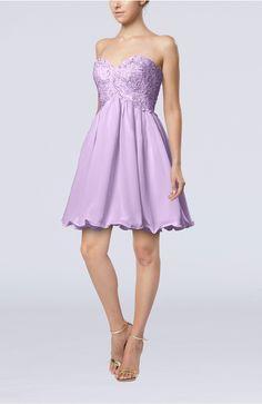 Light Purple Graduation Dress - Cinderella A-line Sleeveless Backless Chiffon Pleated