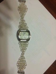 Chainmaille watch!