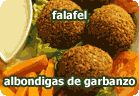 Falafel - albondigas de garbanzo :: receta vegetariana Vegetarian Recipes, Snack Recipes, Cooking Recipes, Healthy Recipes, Sin Gluten, Healthy Snacks, Clean Eating, Veggies, Tasty