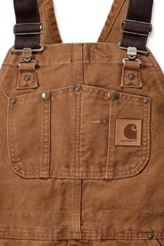 Carhartt Sandstone Bib Overall - P&P from Ocean Supplies. Workwear Overalls, Carhartt Workwear, Bib Overalls, Dungarees, Salopette Carhartt, Workwear Brands, Casual Outfits, Men Casual, Outdoor Outfit