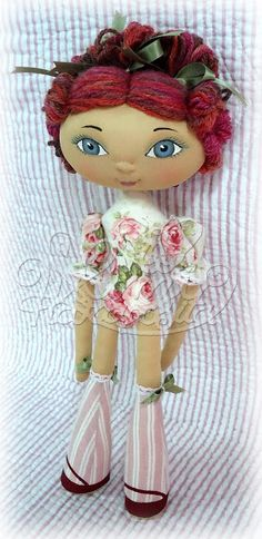Mimi Haraposita: Strawberry Doll By Mimi Haraposita