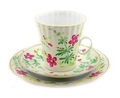 Lomonosov Porcelain 'Flowers' Fine Bone China