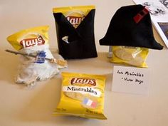 Knight Library's Edible Book Festival (pictured: Lay's Miserables)