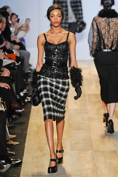 Michael Kors Fall 2012 And oh boy. Those shoes. Thems what I need...