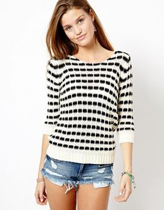 Only Geo Knit Jumper