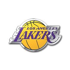 Los Angeles Lakers Auto Emblem - Color