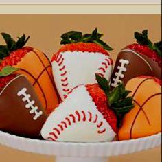 Sports Choc Covered Strawberries