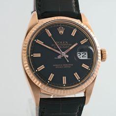 Rolex DATEJUST 1601 RARE VINTAGE ROSE GOLD