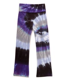 Look at this Twilight Swirl Yoga Pants - Infant, Toddler & Girls on #zulily today!