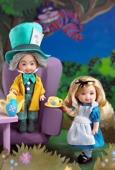 Kelly® Doll and Tommy™ Doll as Alice & the Mad Hatter (Storybook Favorites, 2002)