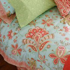 Amy Butler Sari Bloom Duvet Cover $60