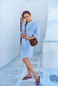 Robe chemise <3