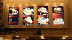 CornDigital Massis Kabob Digital Menu Board