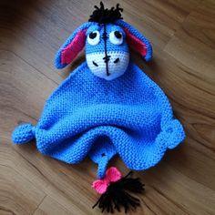 Eeyore Blanket Buddy - Free Pattern