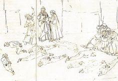 Sandro Botticelli - La divine comédie - Dante Alighieri