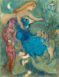 View Frontispice from Le Cirque by Marc Chagall on artnet. Browse upcoming and past auction lots by Marc Chagall. Marc Chagall, Chagall Paintings, Modigliani, Jewish Art, Art Moderne, Cubism, French Artists, Art Plastique, Colors